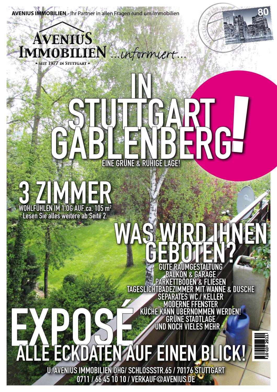 Ruhig im Grünen (Halbhöhenlage) Stuttgart-Gablenberg